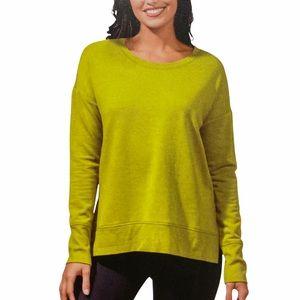 90° DEGREES Modal Blend Sweatshirt in Pear Green
